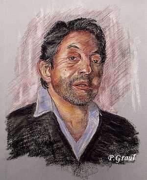 Serge Gainsbourg par pascou